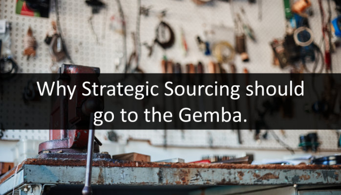 Strategic Sourcing go to Gemba